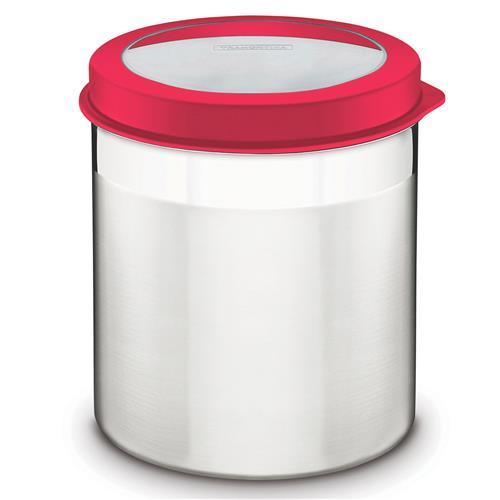 Pote De Aço Inox Com Tampa Plástica 3.41L 61227162 Tramontina