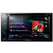 Auto Rádio Dvd Usb Bluetooth 6.2Pol Preto Avh278bt Pioneer