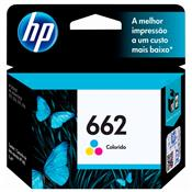 Cartucho Tinta 662 Ink Advantage 2.0 Ml Tricolor Hp Suprimentos