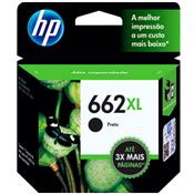 Cartucho De Tinta 662Xl Ink Advantage Preto Hp Suprimentos