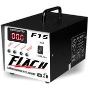 Carregador Inteligente De Baterias 12 V 15 Ah F15 Flach