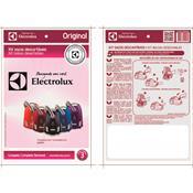 Kit 3 Sacos Descartáveis Para Aspirador De Pó Berry Electrolux