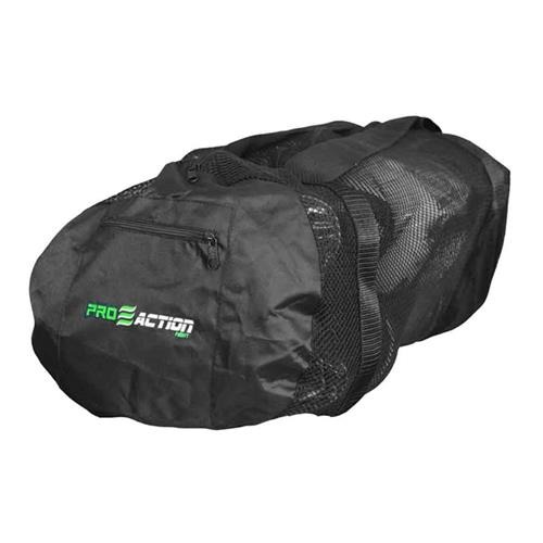 Mala Esportiva Gym Mesh 60 X 32 Cm Preta Proaction Sports