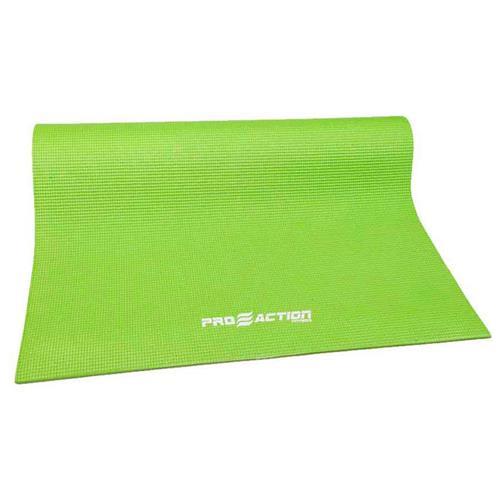 Tapete De Yoga Pilates Em Pvc Verde G146 Proaction Sports