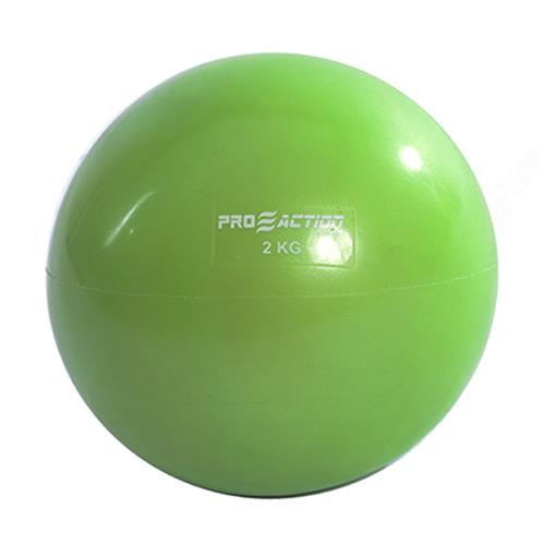 Tonning Ball 2 Kg Verde Pvc e Areia GA021 ProAction Sports