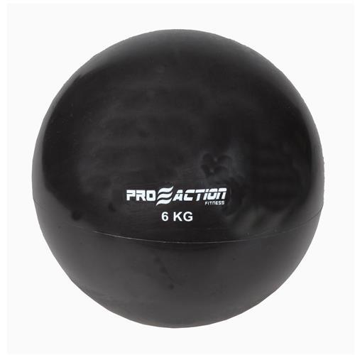 Tonning Ball 6 Kg Preta Pvc E Areia Ga023 Proaction Sports