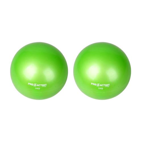 Tonning Ball Verde 1 Par 1 Kg Cada GA026 ProAction Sports