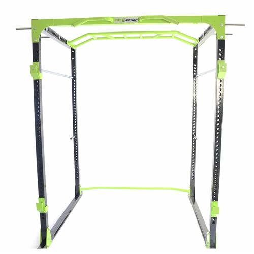 Gaiola Power Rack Funcional Turbo Pr800 Proaction Sports