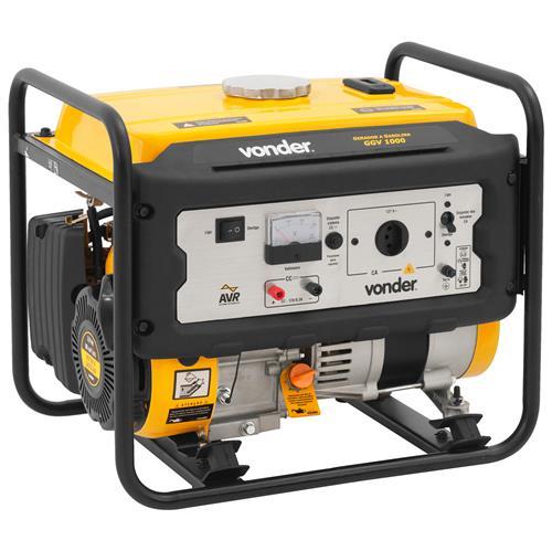 Gerador De Energia A Gasolina 1000W 3 Hp Ggv1000 Vonder