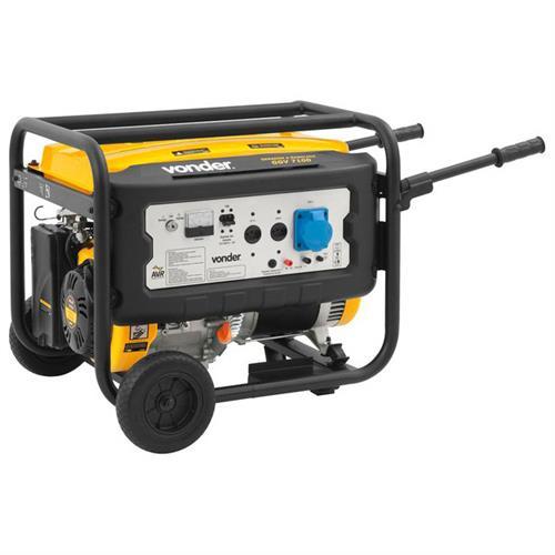 Gerador De Energia Gasolina 7100W 4 Tempos 15 Hp Vonder