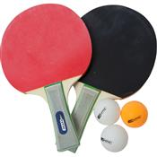 Ping Pong B 2 Raquetes Dupla Face 3 Bolas 410250 Ntk