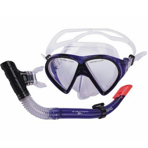Kit Thai Para Mergulho Com Máscara E Respirador 480780 NTK