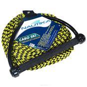 Corda Para Reboque Cabo Ski 20 Metros Preto E Amarelo 432500 Ntk