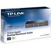 Switch Gigabit 24 Portas 10/100/1000 Mbps Tl-Sg1024d Tp-Link