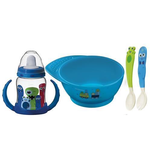 Kit Infantil 4 Peças Monsterbaby 23799197 Tramontina