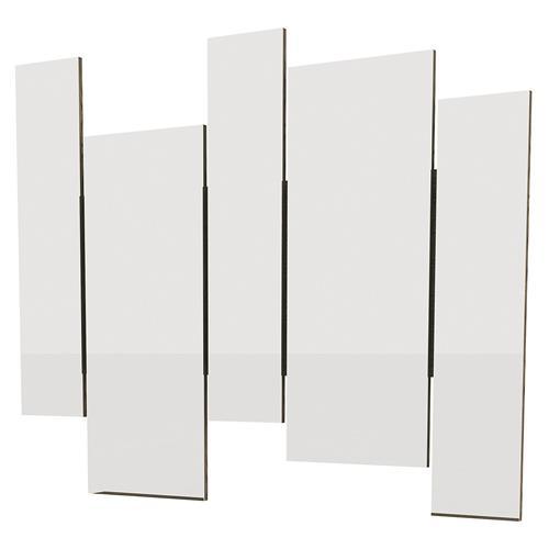 Moldura Para Espelho Isadora Ébano Mdf 5002-Eb New Ceval
