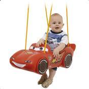 Balanço Infantil Carros Individual Vermelho 18176 Xalingo