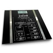 Balança Ison 2.5 Kg Á 150 Kg Vidro Temperado Bisonb Kikos - Preto