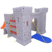 Playground Castelo Medieval Infantil Plástico 9709 Xalingo
