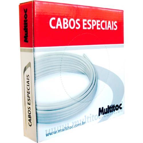 Cabo CA 8 Vias 100 Metros Para Alarme MUFI0220 Multitoc