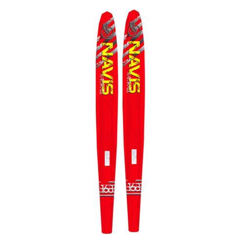 Esqui Kamikaze Vermelho 168 Cm Com Botas Baixo Peso 212047 Navis