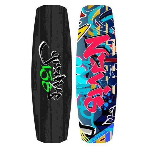 Prancha De Wakeboard Grafite 138 Cm 4 Quilhas 212011 Navis