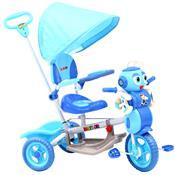 Triciclo Infantil Plástico Abelha Rodas Track Bikes Azul