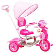 Triciclo Infantil Plástico Abelha Rodas Track Bikes Rosa