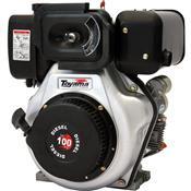 Motor 4 Tempos Diesel 1 Eixo 10.0HP 406Cc TD100F Toyama