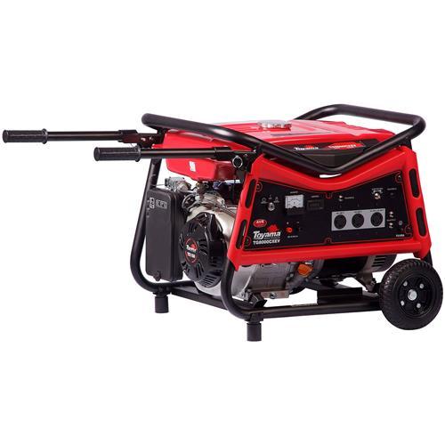 Gerador De Energia Gasolina 4 Tempos 7 Kva Tg8000cxev Toyama