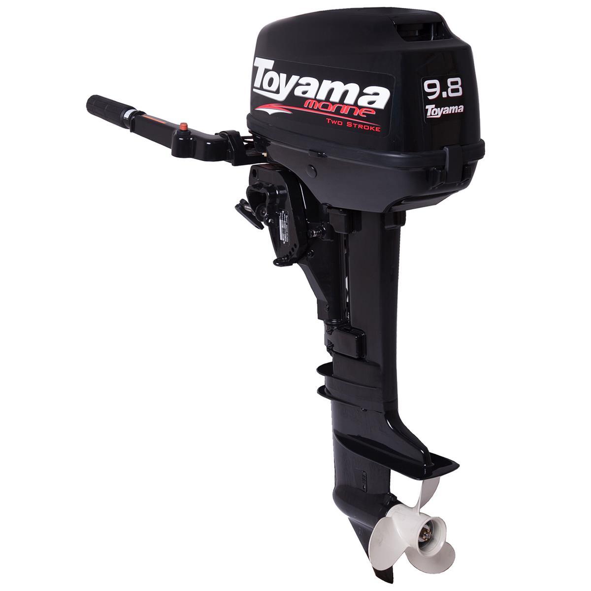 Motor De Popa Bicilíndrico 169Cc 2 Tempos Tm98ts Toyama