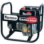 Gerador Diesel Monocilíndrico 211Cc Bivolt Td2500cs Toyama