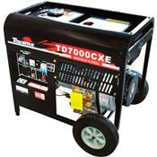 Gerador A Diesel 4 Tempos Monocilíndrico 6000W Bivolt Toyama