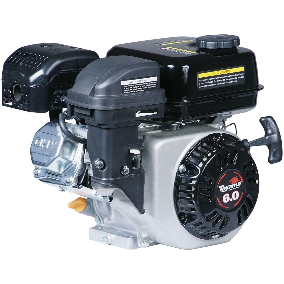 Motor A Gasolina 4 Tempos 6Hp 180Cc 3600Rpm Tf60fx2 Toyama