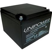 Bateria 12V Vrla Chumbo Selada Regulada Up12260 Unipower