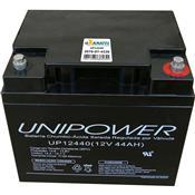 Bateria 12V Vrla Ácida Regulada Por Válvula Up12440 Unipower
