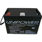 Bateria 12V Vrla Chumbo Regulada A Válvula Up12900 Unipower