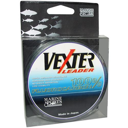 Linha Fluorocarbono 0.81Mm 50M Vexter Leader Marine Sports