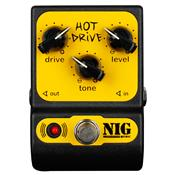 Pedal Overdrive Agressivo Hot Drive True Bypass Phd Nig