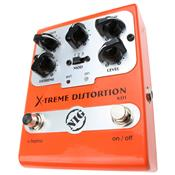 Pedal Super Guitarra E Baixo Xtreme Distortion Xd1 Nig
