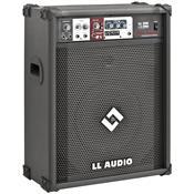 Caixa Amplificada Multiuso 12 Pol 75W Rms Ll300usb Ll Áudio
