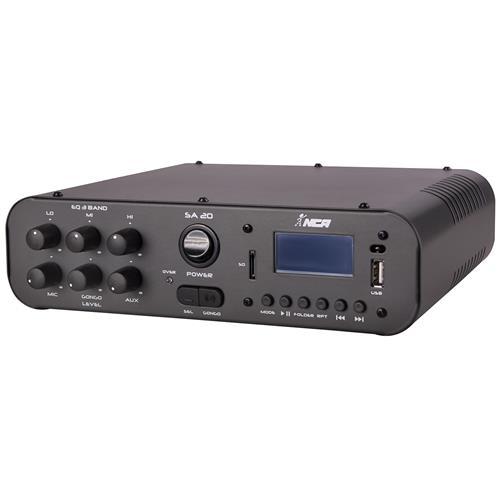 Amplificador Compacto 100W Rms Rca Usb Bivolt Sa20 Ll Áudio