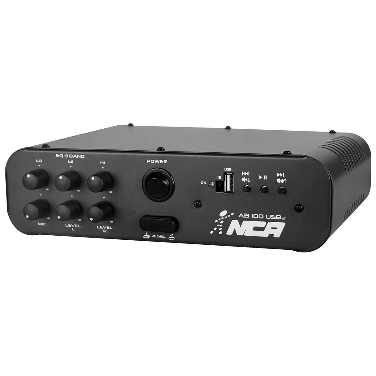 Amplificador Compacto 100W Rms Rca Bivolt Ab100usbst Ll Áudio