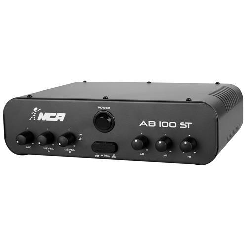 Amplificador Compacto 60W Rms Rca Bivolt Ab100st Ll Áudio