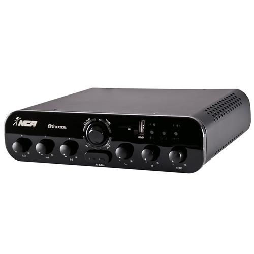 Amplificador Compacto 100W Rms Rca Bivolt Evo1000s Ll Áudio