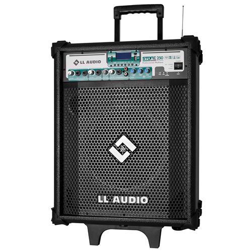 Caixa Amplificada Stone 60W Com Bluetooth St250bat Ll Áudio