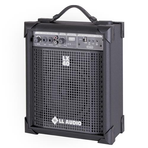 Caixa Amplificada Compacta Fm Usb 10W Lx40fm Ll Áudio