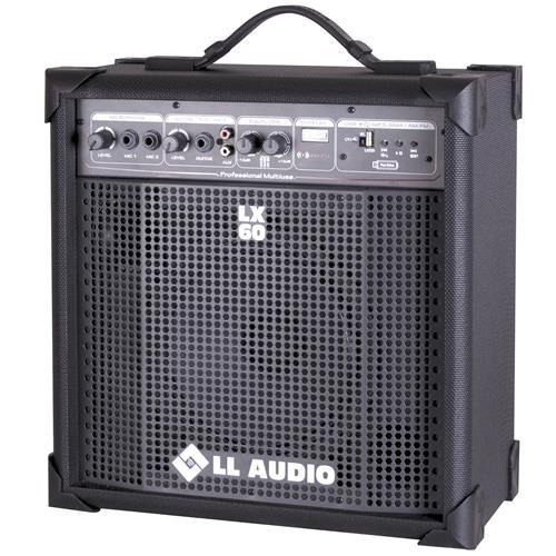 Caixa Amplificada Compacta Am Fm Usb 15W 2Eq Lx60fm Ll Áudio