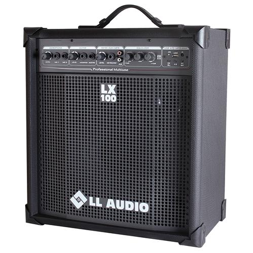 Caixa Amplificada Compacta Usb 25W 3Eq Lx100usb Ll Áudio
