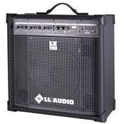 Caixa Amplificada Compacta Fm Usb 25W 3Eq Lx100fm Ll Áudio